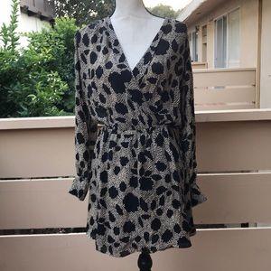 Silk Parker Dress -Size Small
